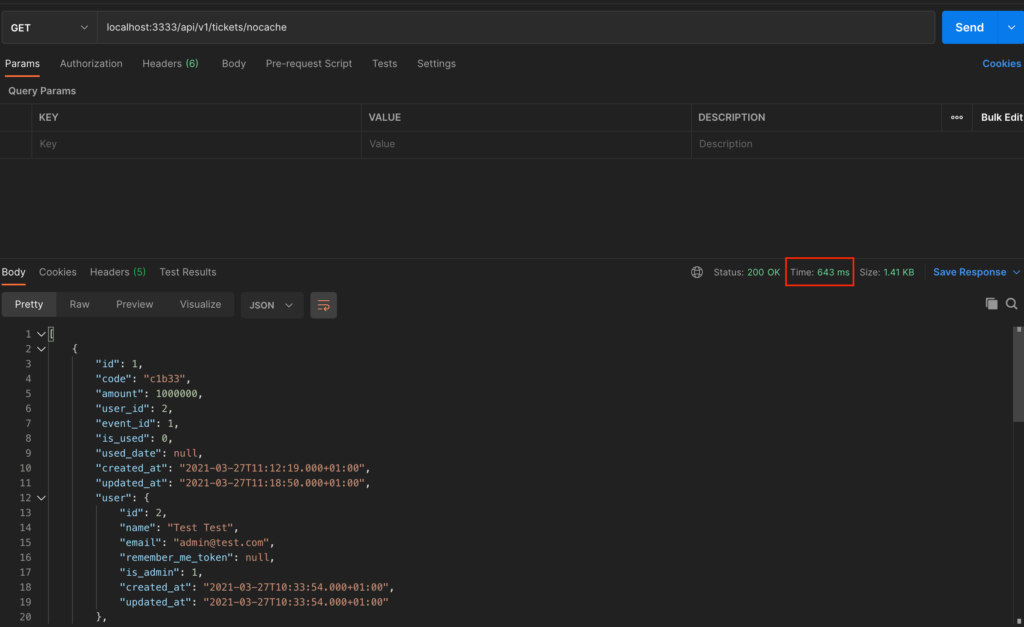 tickets nocache 1 1024x627 - Caching Strategy for RESTFUL API